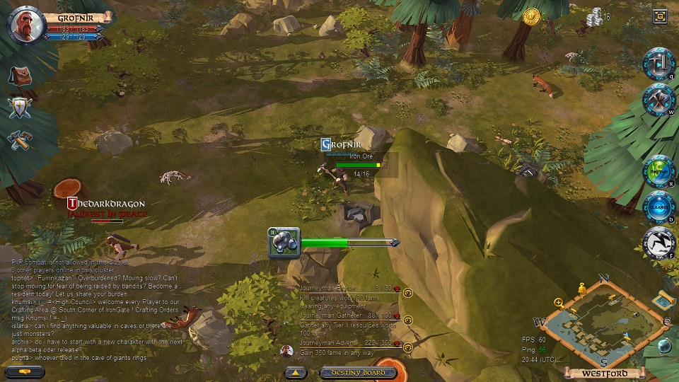 Word Play Albion Online Alpha First Impressions