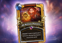 Hearthstone Tops 20 Million Registered Players