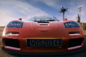 McLaren F1 Races Into World of Speed