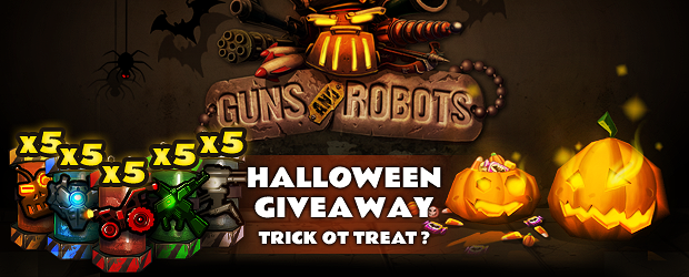 Guns and Robots Halloween Gift Pack Giveaway