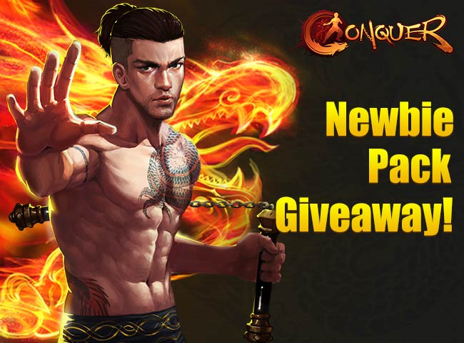 Conquer Online King of Kung Fu Gift Pack Giveaway