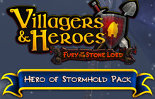 Villagers and Heroes Steam DLC Code Giveaway (More codes)