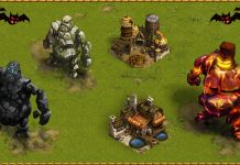 Golems Attack for Settlers Online Halloween Event