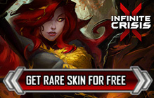 Infinite Crisis Queen Poison Ivy Rare Skin Giveaway