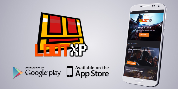 LootXP App: More giveaways straight to your phone!