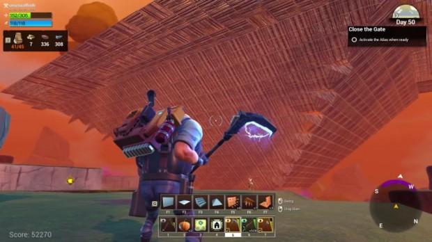 Fortnite  alpha Fortress