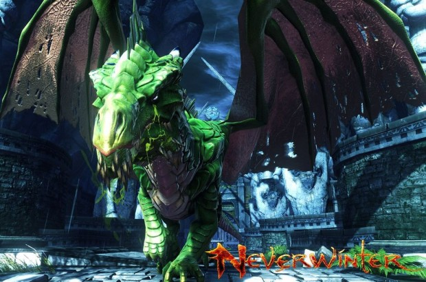 Neverwinter green dragon