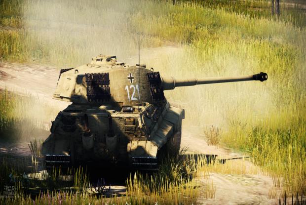 War Thunder German tank