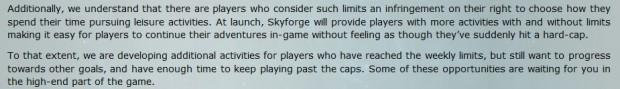 Skyforge Limits 3