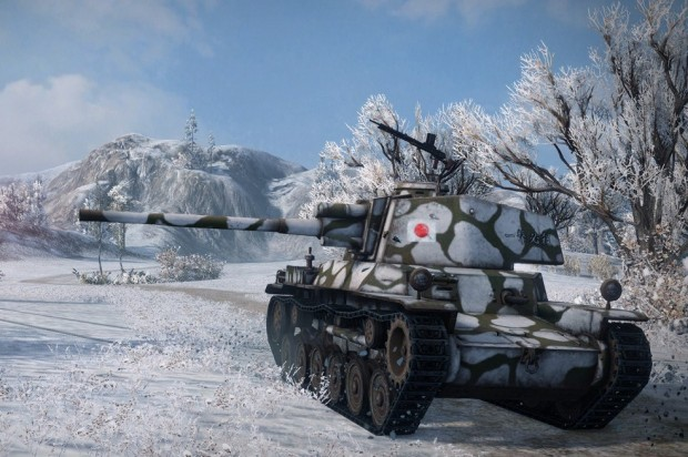 World of Tanks Japanese
