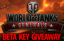 World of Tanks: Generals Closed Beta Key Giveaway (North America Only)