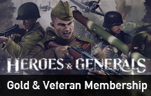 Heroes & Generals Gold and Membership Giveaway (Including Steam version)