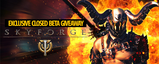 Skyforge Exclusive Closed Beta Key Giveaway - MMO Bomb