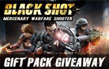 Blackshot Limited Gift Pack Giveaway