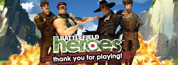 Battlefield Heroes farewell