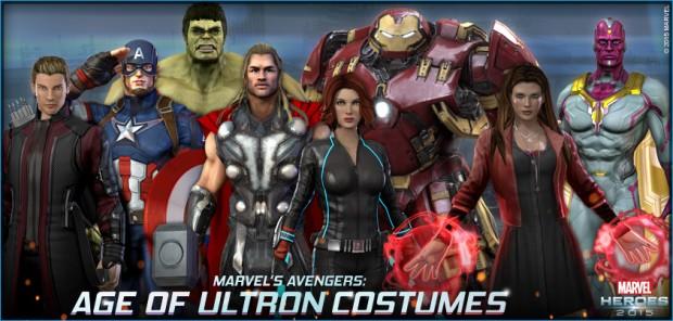 Marvel Heroes Avengers 2