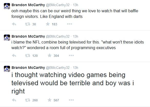 Mccarthy Tweets