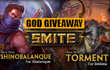SMITE: Xbalanque and Bellona God Giveaway