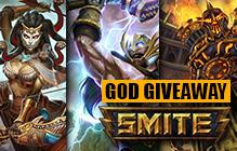 SMITE: Vulcan, Thor and Medusa God Giveaway