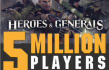 Heroes & Generals Hits 5 Million Accounts: Gives Out Free Gold 2