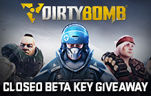 Dirty Bomb Beta Steam Codes Giveaway