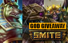 SMITE: Free Chaac, Anubis and Ah Muzen Caab Codes Giveaway
