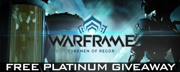 Warframe platinum giveaways