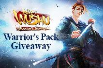 Age of Wushu Warrior's Pack Giveaway