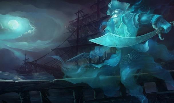 Gangplank ghost