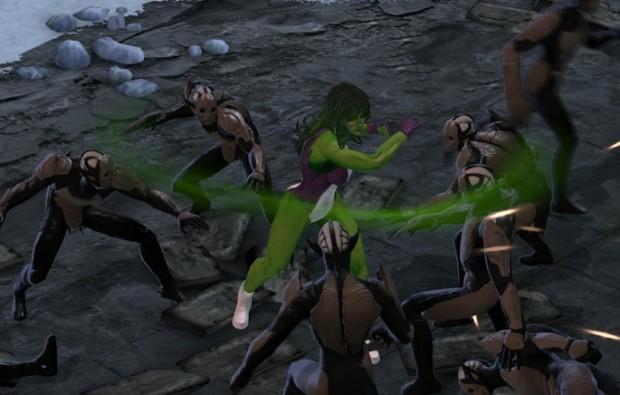 Marvel Heroes She Hulk