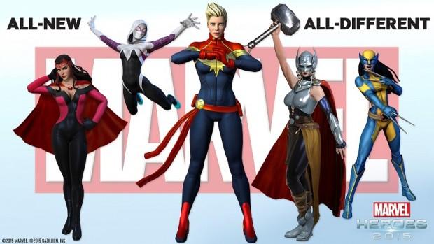Marvel Heroes ANAD