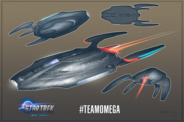 Star Trek Online Omega ship