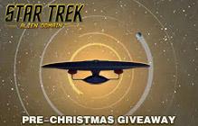 Star Trek Alien Domain Pre-Christmas Pack Giveaway