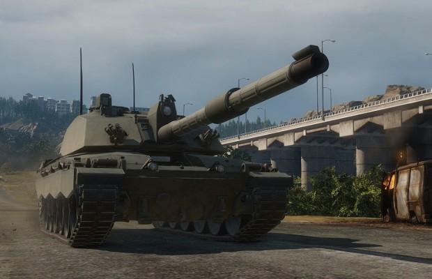 Armored Warfare Challenger 2