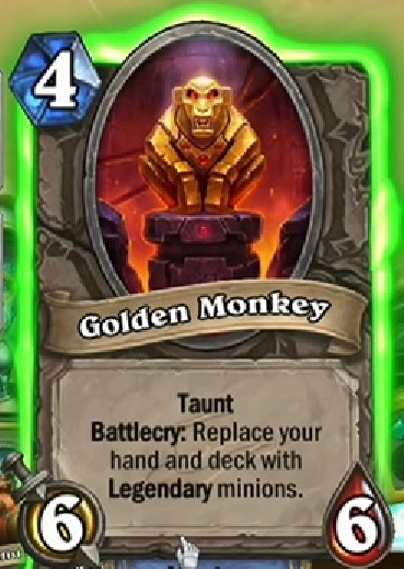 Hearthstone Golden Monkey