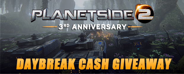 Planetside 2 closed beta key giveaways