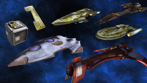 Star Trek Online boxes