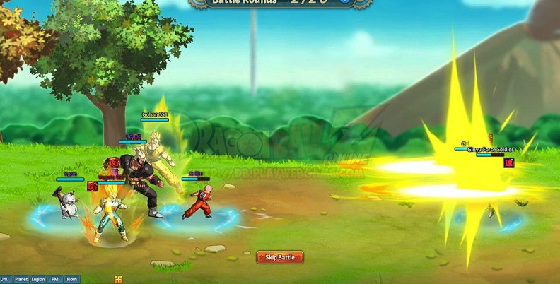 dragon ball z mmo free to play
