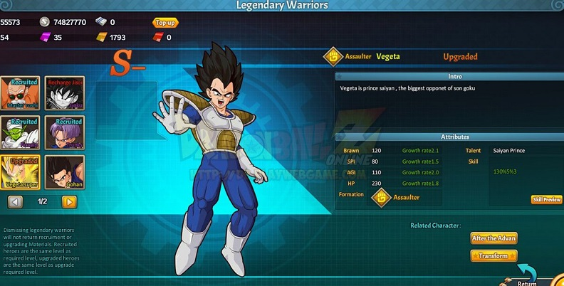 3d dragon ball z games online for free to play