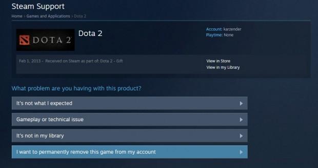 Steam Delete