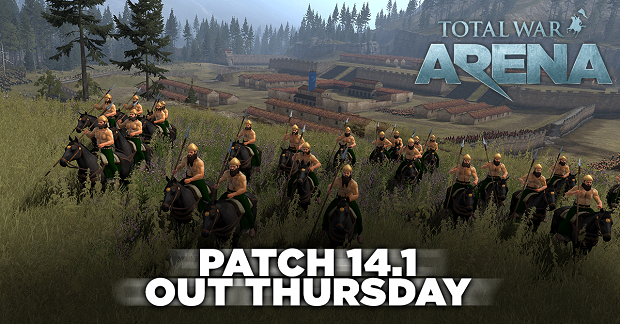 Total War Arena Patch 14.1
