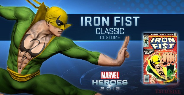 Iron Fist Joining Marvel Heroes 2015 Roster