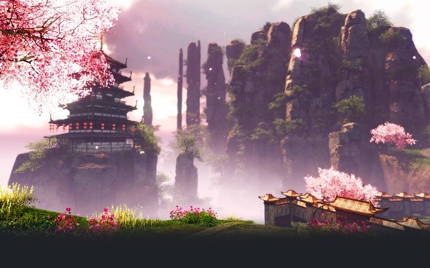 Archeage Mistsong Loading Screen