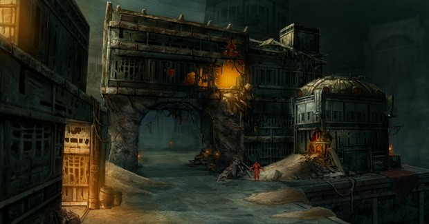 Nosgoth Silenced Cathedral art