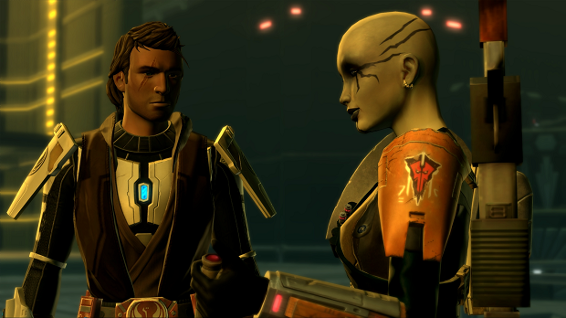 SWTOR KotFE CH10 Kaylio Aligns with the Outlander