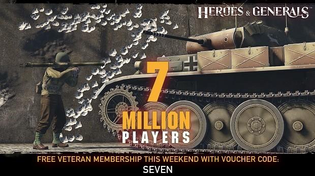 Heroes Generals Seven Million