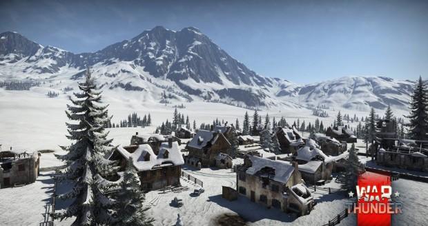 War Thunder Snowy Valley
