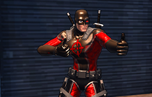"Champions Online Makes ""Specialist"" Archetype Free In Honor Of Deadpool"