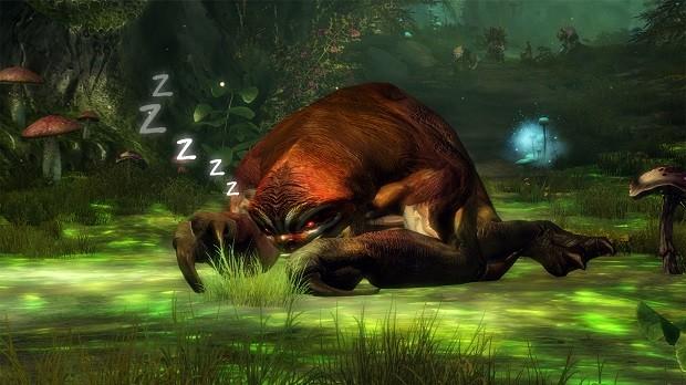 GW2 Slothasor sleep