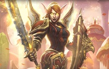 New Hearthstone Hero, Liadrin, Available Free To Players With Level 20 WoW Characters